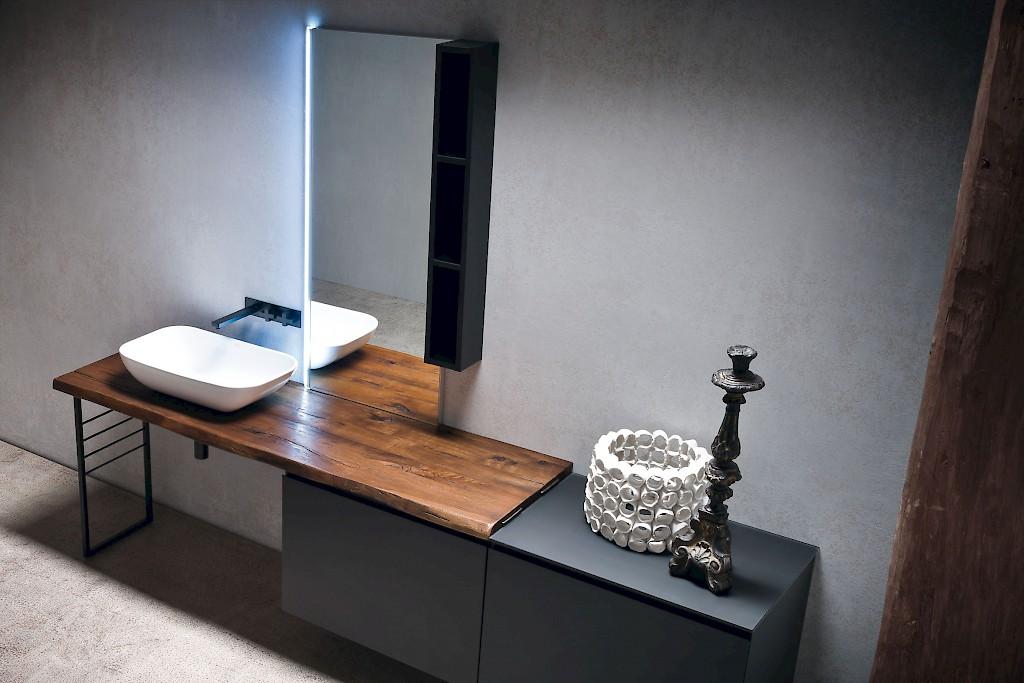 Mobili per il bagno classici e moderni - Mobili bagno legno massiccio ...